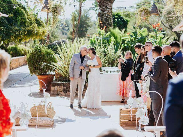 La boda de Nahuel y Yolanda en Cala De San Vicente Ibiza, Islas Baleares 47