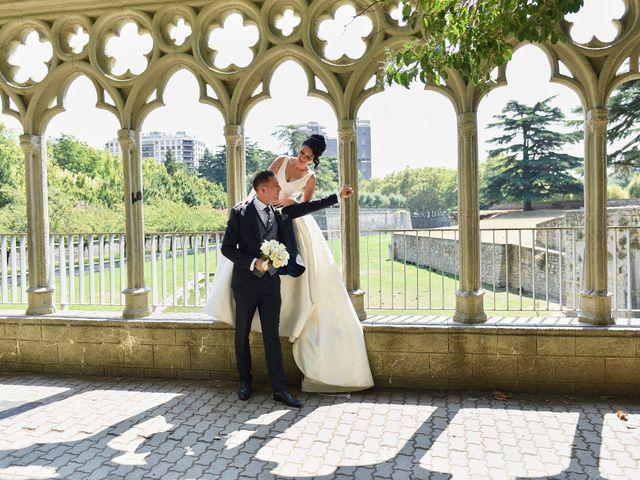 La boda de Samira y Aritz
