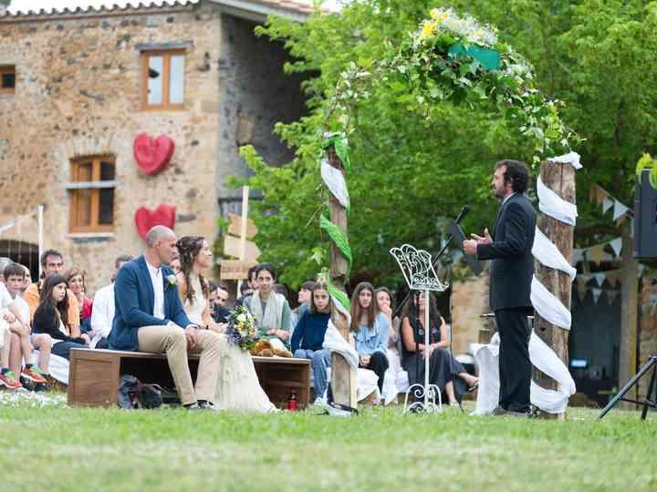 La boda de Cristina y Josep Maria