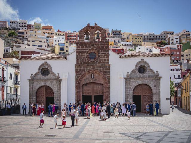 La boda de Raúl y Lisset en San Sebastian Gomera, Santa Cruz de Tenerife 8