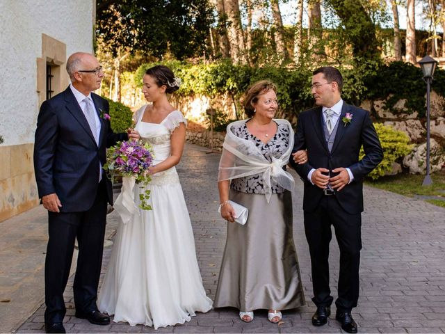 La boda de Sergi y Cris en Olerdola, Barcelona 12