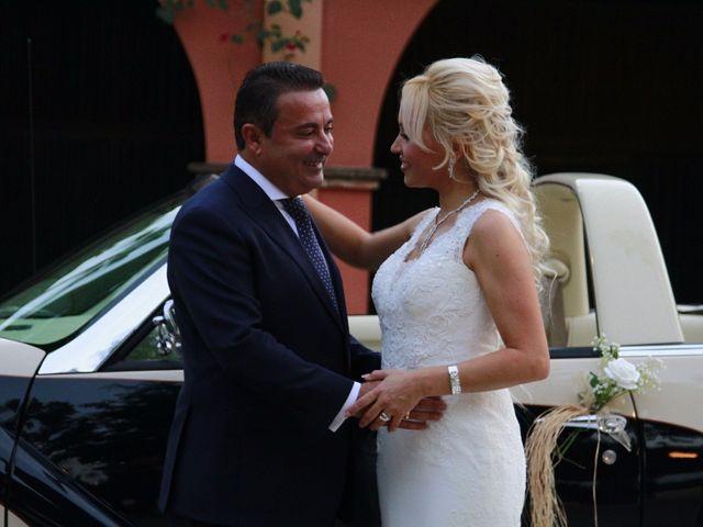 La boda de Rafael y Elena en Sanlucar La Mayor, Sevilla 15