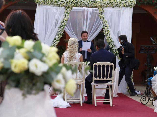 La boda de Rafael y Elena en Sanlucar La Mayor, Sevilla 16