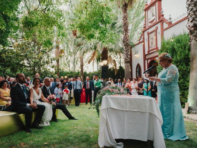 La boda de Alfonso y Silvia en Puente Genil, Córdoba 69