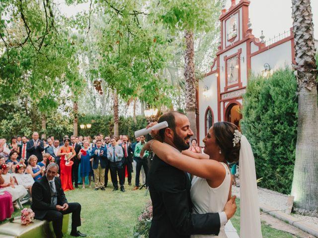 La boda de Alfonso y Silvia en Puente Genil, Córdoba 78