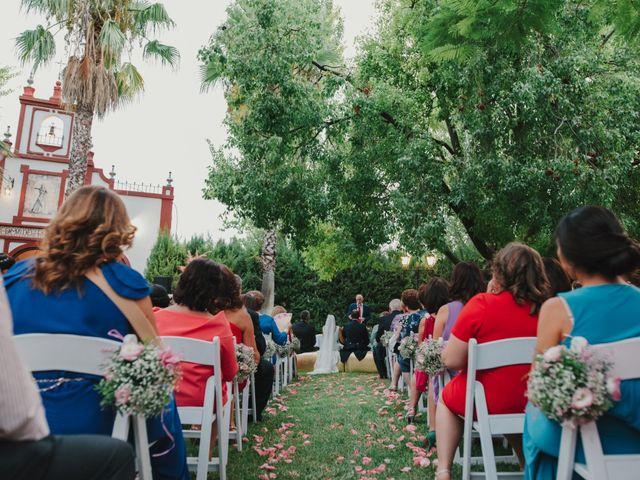 La boda de Alfonso y Silvia en Puente Genil, Córdoba 80