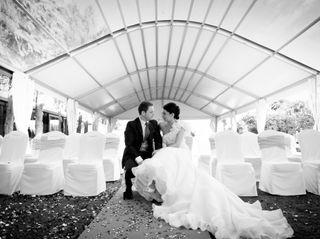 La boda de Penelope y Kike