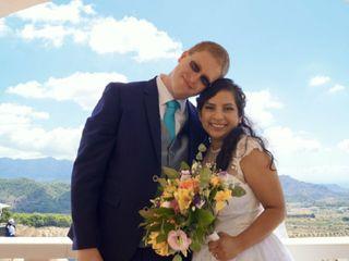 La boda de Míriam y Johannes