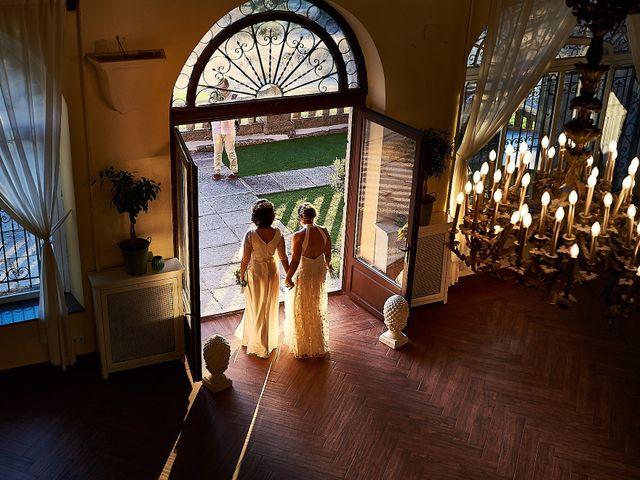 La boda de Marelys y Helena en Torrelodones, Madrid 1