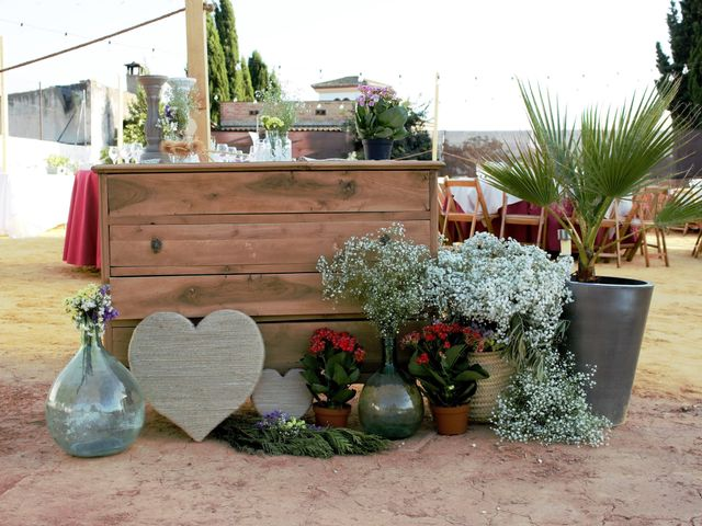 La boda de Nacho y Marypaz en Huetor Vega, Granada 17