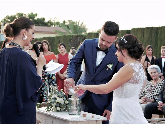 La boda de Nacho y Marypaz en Huetor Vega, Granada 35