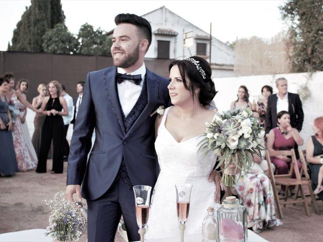 La boda de Nacho y Marypaz en Huetor Vega, Granada 37