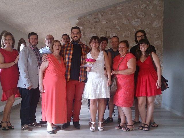 La boda de Albert y Gisela en Montbrio Del Camp, Tarragona 1