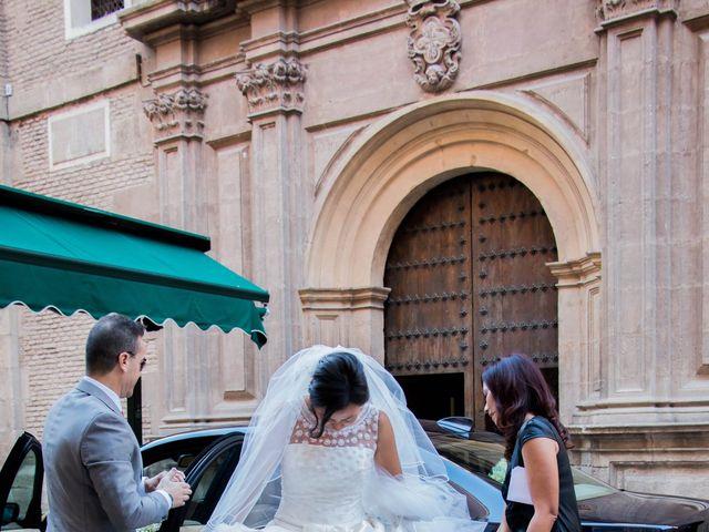 La boda de Alejandro y Naomi en Santomera, Murcia 16