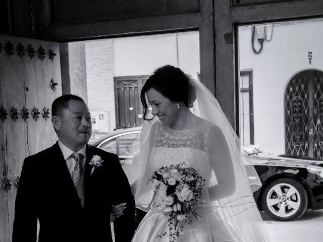 La boda de Alejandro y Naomi en Santomera, Murcia 17