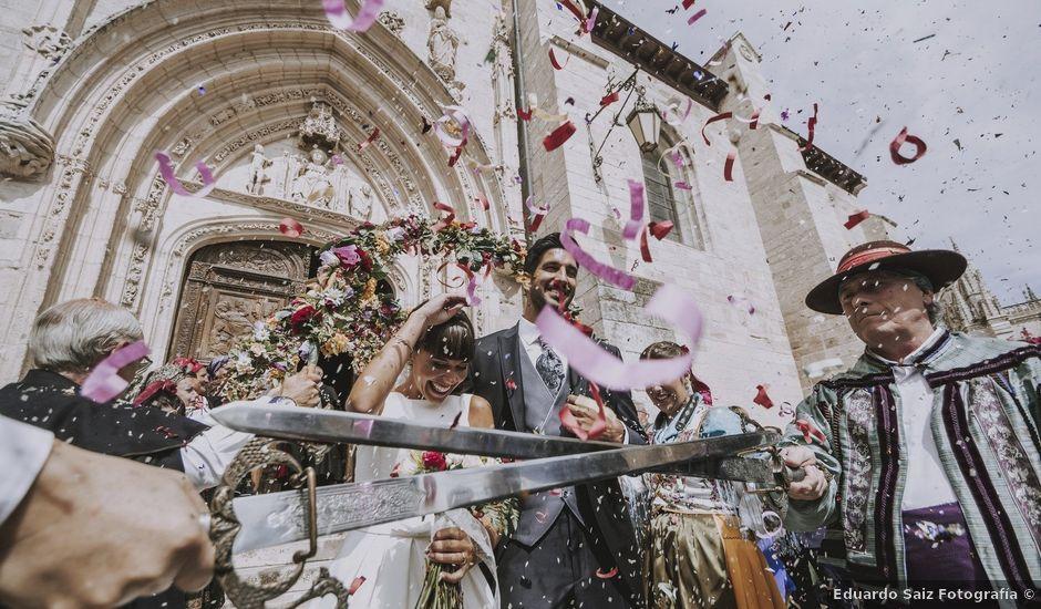 La boda de Hugo y Sandra en Sotopalacios, Burgos