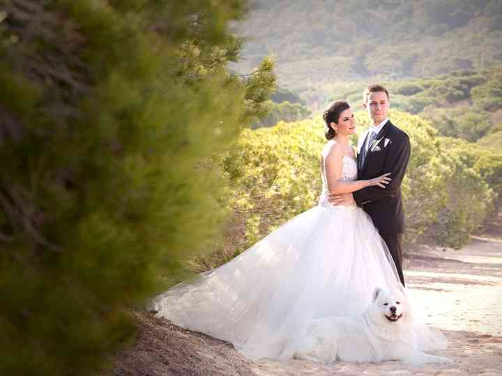 La boda de Inés y Javier