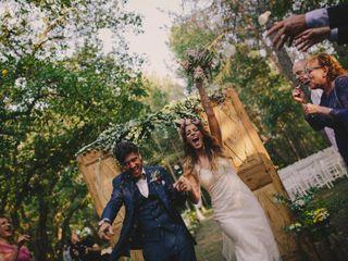 La boda de Ariana y Robert
