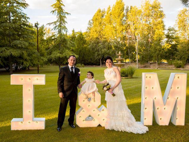 La boda de Miguel y Inma en Los Santos De La Humosa, Madrid 1