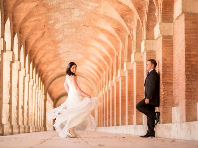La boda de Miguel y Inma en Los Santos De La Humosa, Madrid 10