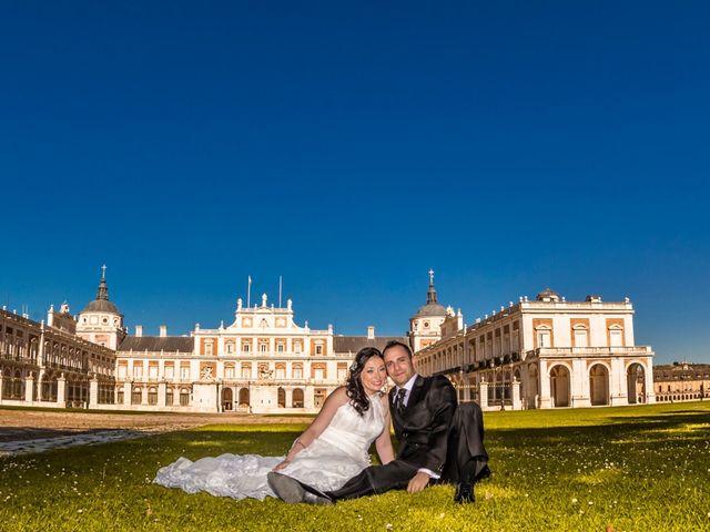 La boda de Miguel y Inma en Los Santos De La Humosa, Madrid 11