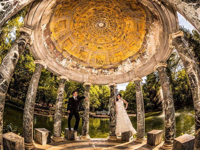 La boda de Miguel y Inma en Los Santos De La Humosa, Madrid 12