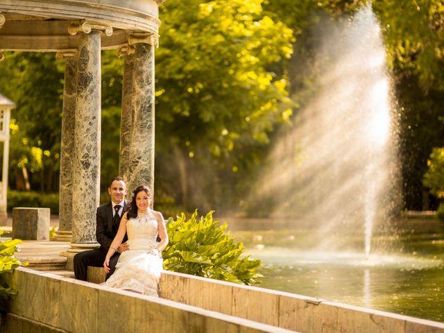 La boda de Miguel y Inma en Los Santos De La Humosa, Madrid 13