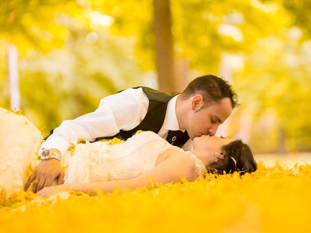 La boda de Miguel y Inma en Los Santos De La Humosa, Madrid 15