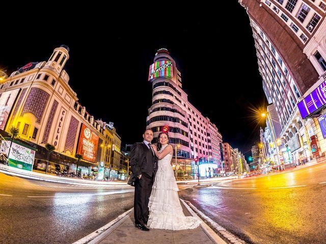 La boda de Miguel y Inma en Los Santos De La Humosa, Madrid 18