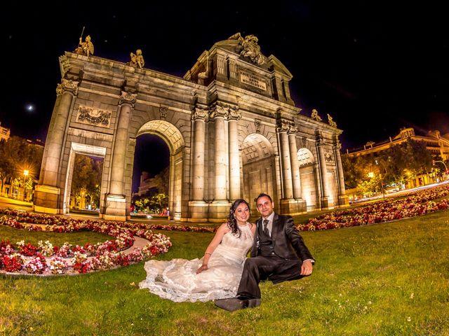 La boda de Miguel y Inma en Los Santos De La Humosa, Madrid 19