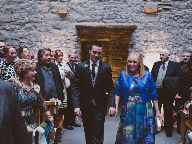 La boda de Adrían y Sara en Boltaña, Huesca 59