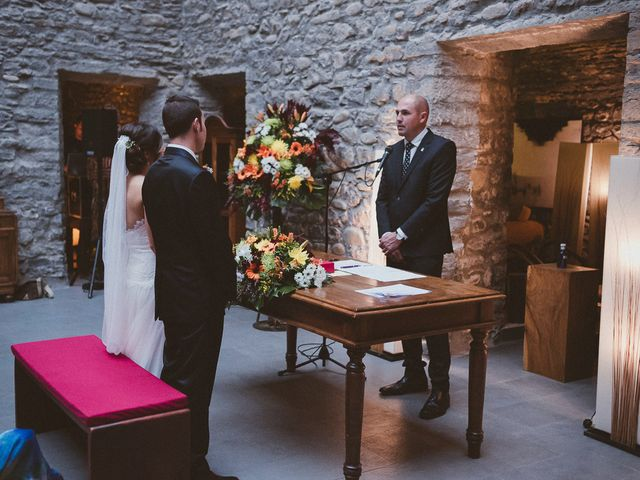 La boda de Adrían y Sara en Boltaña, Huesca 63