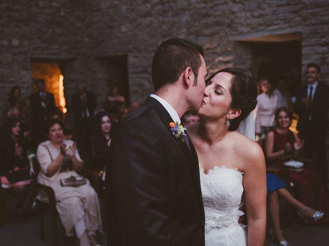 La boda de Adrían y Sara en Boltaña, Huesca 77