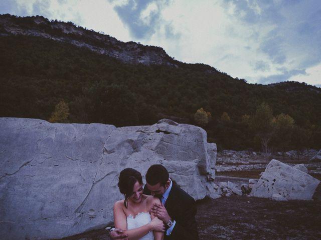 La boda de Adrían y Sara en Boltaña, Huesca 91