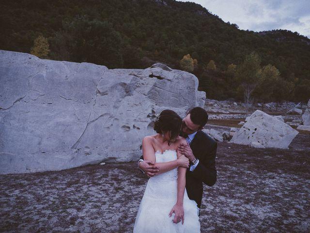 La boda de Adrían y Sara en Boltaña, Huesca 93
