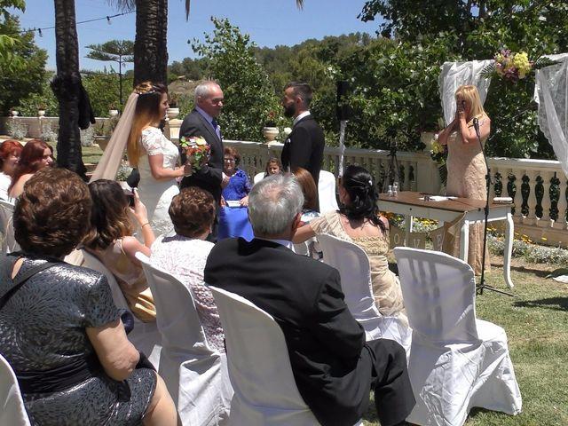 La boda de David y Clara en La Nucia, Alicante 2