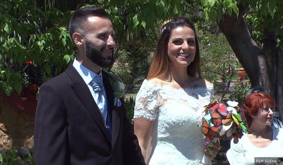 La boda de David y Clara en La Nucia, Alicante