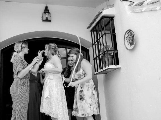 La boda de Jeroen y Nicky en La Joya Nogales, Málaga 31