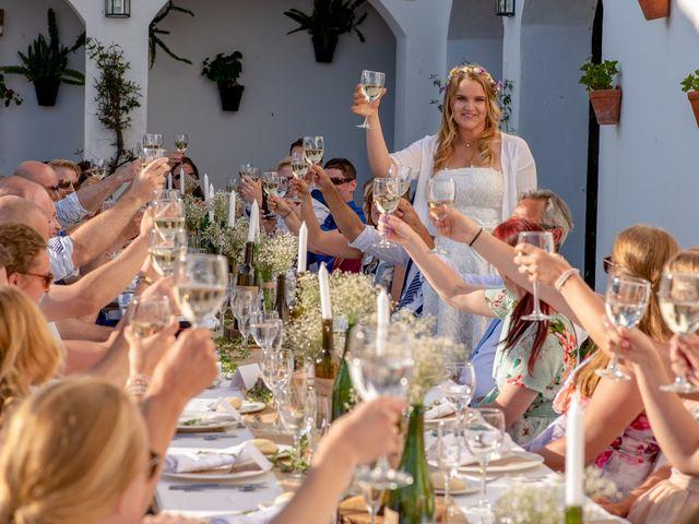 La boda de Jeroen y Nicky en La Joya Nogales, Málaga 86
