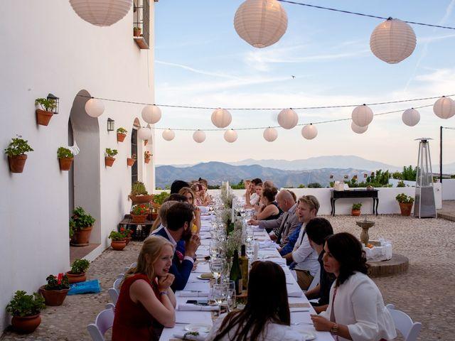 La boda de Jeroen y Nicky en La Joya Nogales, Málaga 92