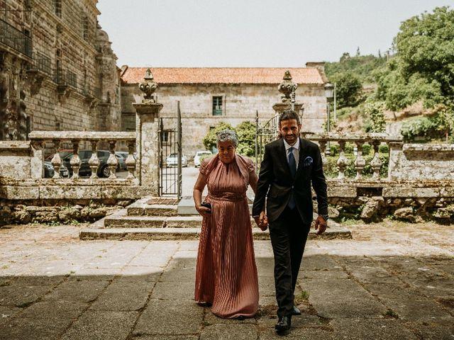 La boda de Marcos y Vanessa en Oseira, Orense 30