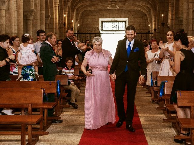 La boda de Marcos y Vanessa en Oseira, Orense 31