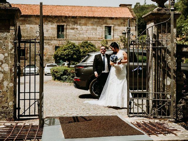 La boda de Marcos y Vanessa en Oseira, Orense 33