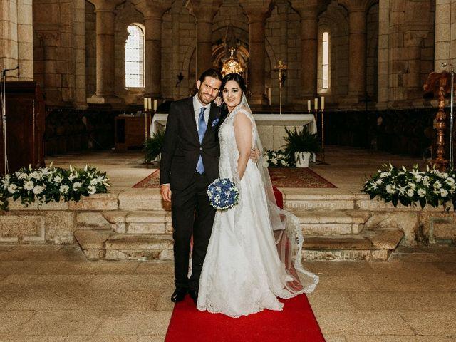 La boda de Marcos y Vanessa en Oseira, Orense 47