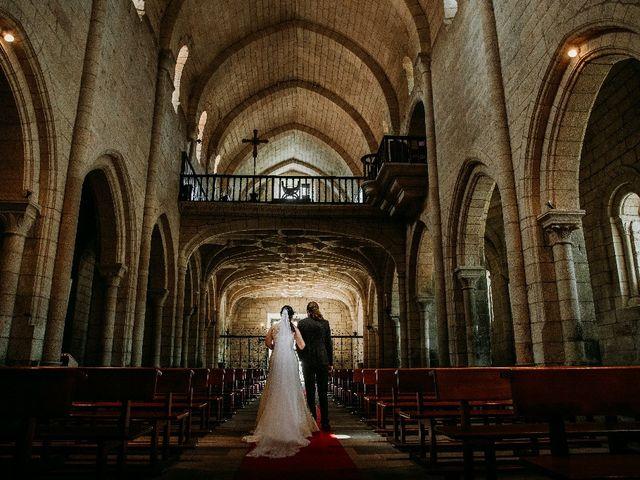 La boda de Marcos y Vanessa en Oseira, Orense 48