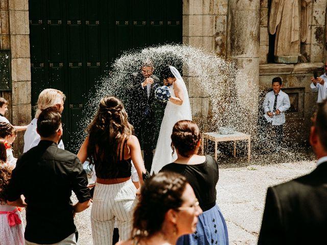 La boda de Marcos y Vanessa en Oseira, Orense 49