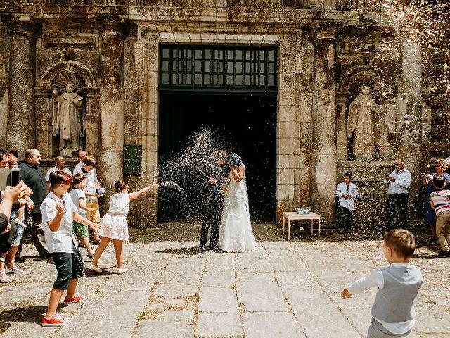 La boda de Marcos y Vanessa en Oseira, Orense 50