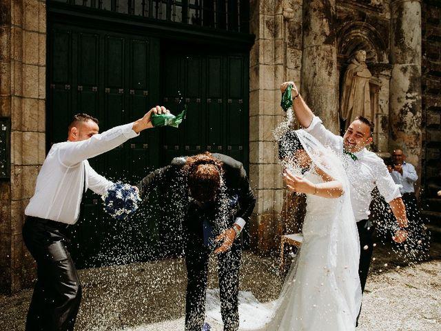 La boda de Marcos y Vanessa en Oseira, Orense 51