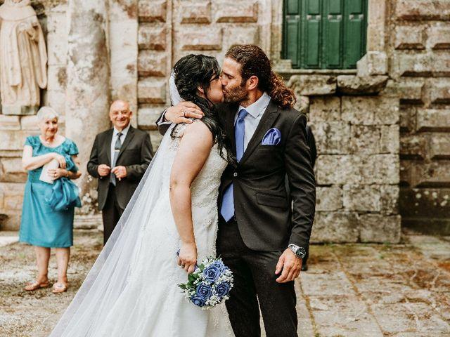 La boda de Marcos y Vanessa en Oseira, Orense 52