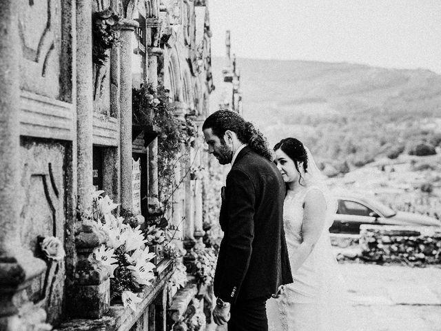 La boda de Marcos y Vanessa en Oseira, Orense 53